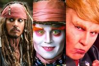 Johnny Depp's Many Movie Faces: From Jack Sparrow to the Mad Hatter (Photos)