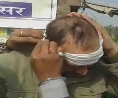 Securitymen in Nitish's convoy hurt