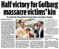 'Convicted', 'acquitted', 'massacre', 'victory': How leading dailies covered Gulbarg Society verdict