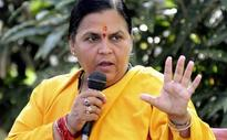 Uma Bharti favours bringing Yeddyurappa back to BJP