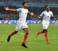 Brewster hattrick powers England to U-17 World Cup final
