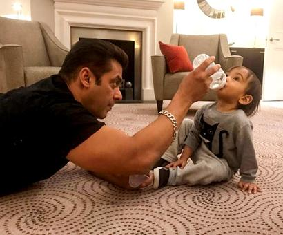 A day in Salman Khan's life...