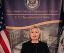Hillary Clinton makes a low-key return to Washington