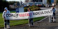 Anti-coal protests at Fonterra