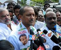 Congress, JD(S) candidates file nominations in Shivamogga, Hassan