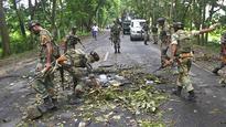 NSCN-K militants attack on Assam Rifles convoy in Nagaland