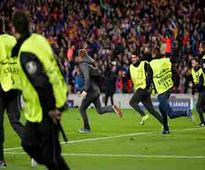 Six clubs fined by UEFA for fans' misconduct