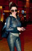 Spotted: Malaika Arora, Kainaat Arora and Neha Dhupia at Mumbai airport