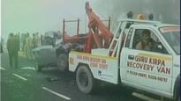 25 vehicles collide on highway in Haryana, five dead