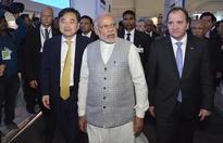 PM Narendra Modi visits Serum Institute