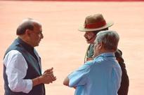 Top ministers review Haryana situation; Rajnath, Parrikar take stock