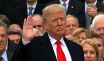 President Trump pledges only America first in fiery inaugural address