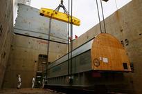 One Thousandth Siemens Gas Turbine Arrives at Broekman Logistics Terminal