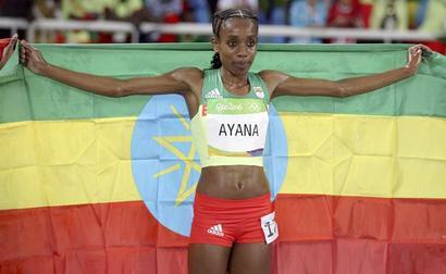 Record-breaking Ethiopian Ayana brushes doping suspicions