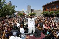 The most breathtaking Cavs parade photos