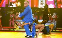 Ed Balls revisits his Gangnam Style routine from Strictly Come Dancing