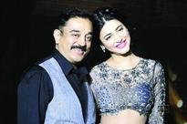 Kamal and Shruti Haasan to share screen space for the first time