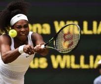 Serena, Sharapova through to quarters; Wozniacki ousted