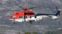 Norway helicopter crash gearbox 'in road accident'