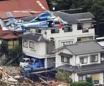 Landslides hit Japan's Hiroshima killing 36