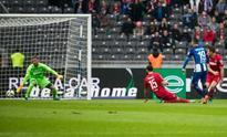 Hertha down Cologne to join Bayern at summit