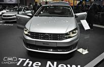 2016 Volkswagen Vento with DRLs Showcased at 2016 Auto Expo