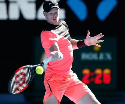 'Edmund's forehand is best in the business'