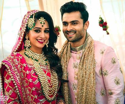 PIX: Sasural Simar Ka's Dipika-Shoaib get married