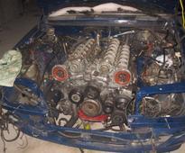 7.3L Pagani Zonda powered Mercedes-Benz W123