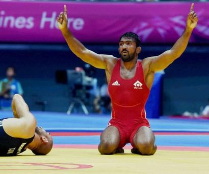 Yogeshwar semi-final was best come-from-behind win I've seen: Sushil Kumar