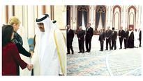 Diplomats offer condolences to Emir and Father Emir