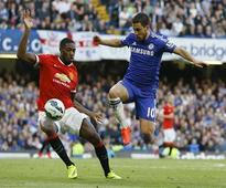 Hazard sends Chelsea 10 points clear by clinching United win