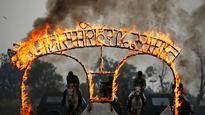 Ghode Jatra: Nepal Army performs amazing equestrian stunts to commemorate Nepal's horse-racing festival!