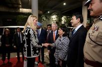 Ivanka Trump reaches Hyderabad to attend Global Entrepreneurship Summit