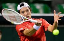 Japan lead South Korea 2-0 in Davis Cup tie