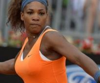 Williams breezes into Rome Open semi-finals