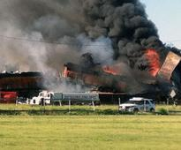3 Crew Members Missing After Texas Freight Train Crash, Authorities Say