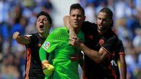 Simeone praise for spot-kick hero Alves