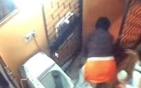 Caught on cam: Woman throws 2-yr-old son down the stairs after fight with in-laws