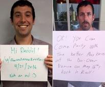 Adam Sandler Discovers His Unbelievable Look-alike