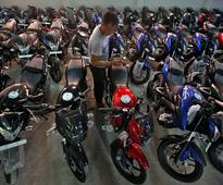 Bajaj Auto motorcycle sales fall 21 per cent in February