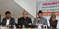 Jamaat-E-Islami Hind Press Meet