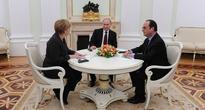 Putin Briefs Merkel, Hollande on Astana Syrian Talks Preparations - Kremlin