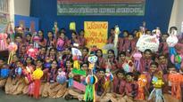 Mumbai: St Xavier's High School Borivali holds Lanterns exhibition