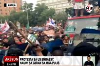 MPD shows video proving protesters started violence at US Embassy