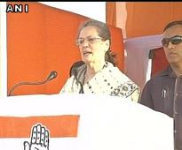 Modi incapable of saving fish, how will he protect borders, Sonia tells WB electorates