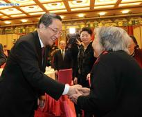 CPPCC holds Spring Festival reception for luminaries' widows
