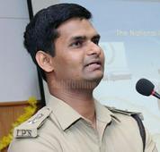 PV Vasantrao appointed as the new SP of Uttara Kannada