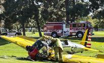 Harrison Ford in hospital after crash