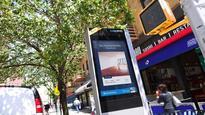 Digital displays bring neighborhood-specific apartment listings to New York City